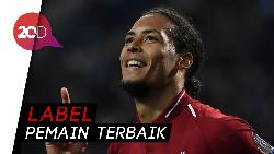 Van Dijk Sabet Gelar PFA Player of The Year