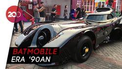 Keren! Ada Mobil Batman Parkir di IIMS 2019
