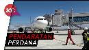 Pesawat Citilink Mendarat Mulus di Bandara Baru DIY