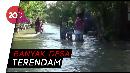 Sungai Bengawan Njero Meluap, Ratusan Rumah Terendam
