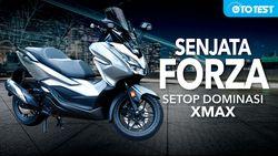 Review Forza 250cc, Senjata Honda Setop Dominasi Xmax