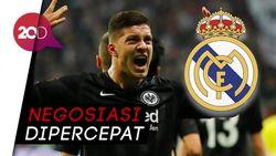 Luka Jovic Merapat ke Real Madrid?