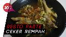 Makan Sop Ceker Pedas Mantap dan Ceker Bakar di Resto Sule