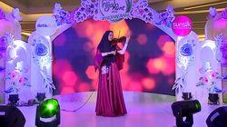 Ambia 'Perfect' Dengan Biolanya - Sunsilk Hijab Hunt 2019 Makassar