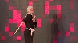 Inilah Aksi Adinda Bela Diri - Sunsilk Hijab Hunt 2019 Makassar
