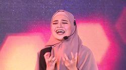 Penuh Penghayatan! Jihan Akting Hingga Teriak - Sunsilk Hijab Hunt 2019 Makassar