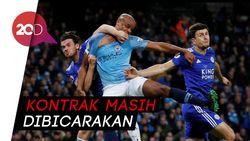 Masa Depan Kompany di Manchester City Belum Jelas