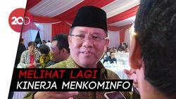 Jika Tak Terpilih Jadi Menteri Lagi, Rudiantara: Alhamdulillah