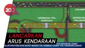 Mudik Lebaran, Ini Skenario Sistem Satu Arah Tol Trans Jawa