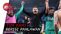 Tak Kuasa Menahan Tangis, Pochettino: Terima Kasih Sepakbola!
