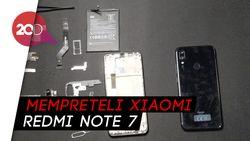 Mempreteli Xiaomi Redmi Note 7