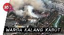 Api Amuk Permukiman Padat di Kampung Bandan Pademangan