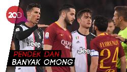 Juventus Kalah, Ronaldo Olok-olok Florenzi