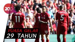 Sungguh Malang Nasib Liverpool, Kalah Sekali tapi Gagal Juara