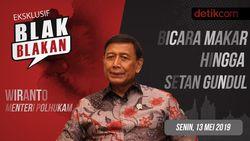 Tonton Blak-blakan Wiranto: Bicara Makar Hingga Setan Gundul
