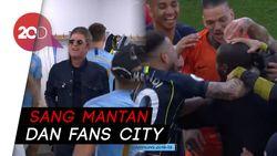 Yaya Toure dan Noel Gallagher Kejutkan Perayaan Juara Manchester City