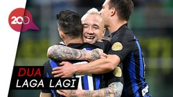 Kalahkan Chievo, Inter Jaga Asa Finis Empat Besar