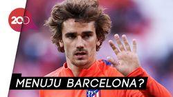 Griezmann Hengkang dari Atletico, Merapat ke Barcelona?