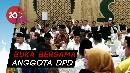 Jokowi Buka Puasa Bersama di Kediaman Oso