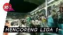 Ricuh Suporter di Laga PSS Sleman Vs Arema FC