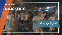 Kemeriahan Festival Patrol di Mojokerto