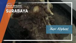 Nasi Afghani, Menu Favorit di Kawasan Ampel, Surabaya