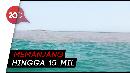 Indahnya Halocline di Perairan Pasuruan, Air Laut Seakan Terbelah