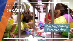 Membuat Cokelat Bersama Anak, Jakarta