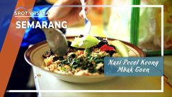 Nasi Pecel Keong Sawah Mbak Toen, Ala Banyubiru, Semarang