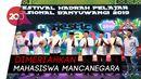 Kemeriahan Festival Hadrah Pelajar Nasional di Banyuwangi