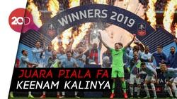 Mantul! Man City Juara Piala FA 2018/2019
