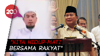 Ustaz Sambo Tepis Kabar Prabowo Kabur ke Luar Negeri: Itu Fitnah!