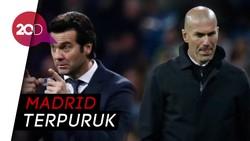 Rapor 3 Pelatih Madrid: Zidane Jauh Lebih Buruk dari Solari