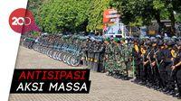 Jelang 22 Mei, Polri-TNI di Sulsel Unjuk Kekuatan