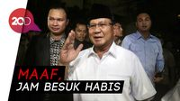 Rombongan Prabowo Subianto Ditolak Jenguk Eggi-Lieus di Polda
