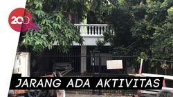 Rumah Tempat Lieus Sungkharisma Ditangkap Kerap Kosong