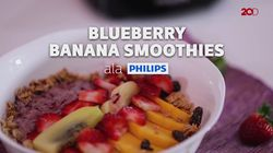 Blueberry Banana Smoothies Sehat untuk Temani Sahur