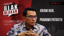 Tonton Blak-blakan Moeldoko: Jokowi Baik, Prabowo Patriotik