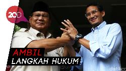 Pengumuman Hasil Pilpres Dini Hari, Prabowo: Waktu yang Janggal