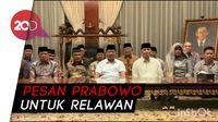 Prabowo: Pendekar Tidak Boleh Gentar Hadapi Cobaan