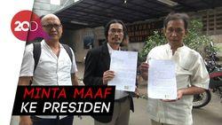 Pria Pengancam Penggal Jokowi Kirim Surat Maaf ke Presiden