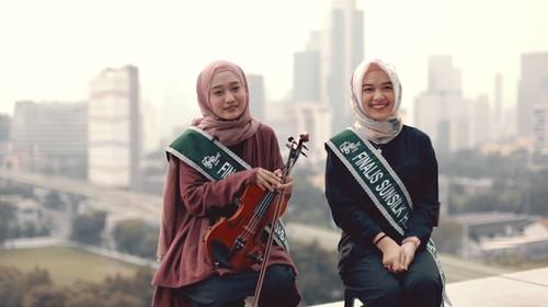 QnA Finalis Sunsilk Hijab Hunt 2019 - Nala dan Maya
