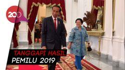 Saat Jokowi dan Megawati Saling Mengucapkan Selamat