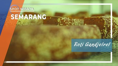 Roti Gandjelrel Khas Semarang