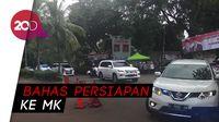 Tiba di Kertanegara, Prabowo Disambut Massa Pendukung