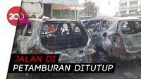 Bangkai Mobil Saksi Bisu Kerusuhan di Petamburan