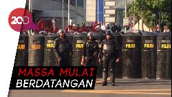 Massa Demo 22 Mei Berdatangan, Jl Thamrin Ditutup