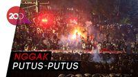 Massa Perusuh Pakai Kembang Api, Polisi: Ada yang Suplai