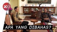 Momen AHY Bertemu Jokowi di Istana Bogor