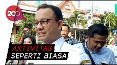 Pantau Aksi di Bawaslu, Anies Minta Warga Jakarta Tetap Tenang